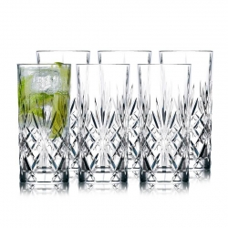 Lyngby Melodia Highball Glas 6 stk 36cl