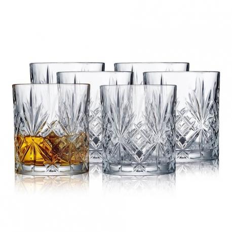Lyngby Melodia Whiskyglas 6 stk 31cl