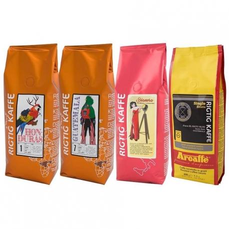 Mellemamerika Mixpakke - 4 varianter