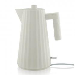 Alessi Plissé Elkedel 1,7 L Hvid
