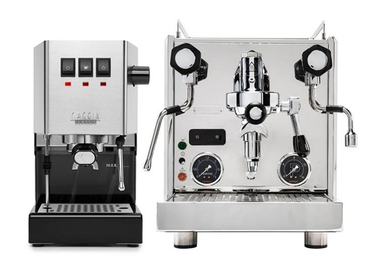 Semiautomatiske espressomaskiner