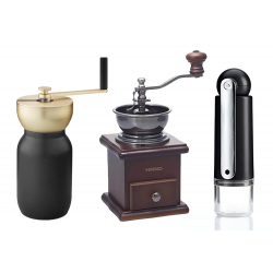 Manuelle kaffemøller