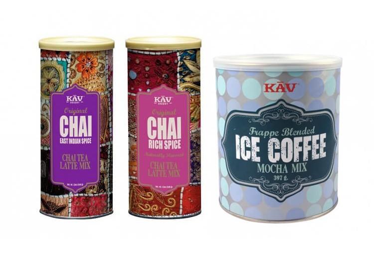 KAV Chai, kakao & frappe