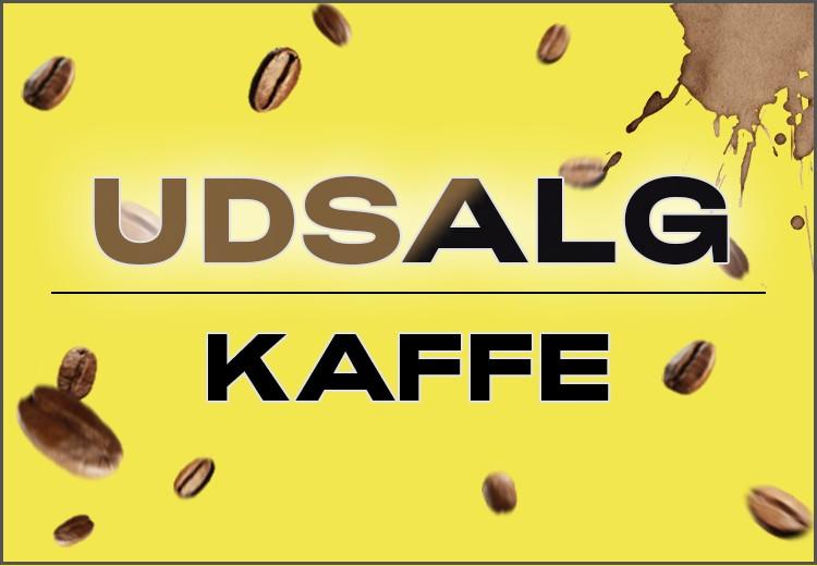 Udsalg - kaffe
