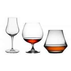 Rom, Whisky & Cognacglas