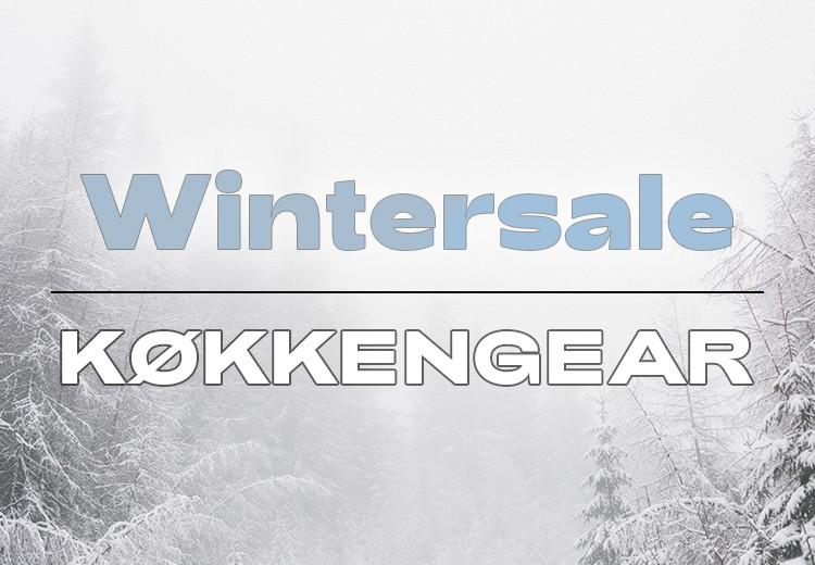 Wintersale - Køkkengear