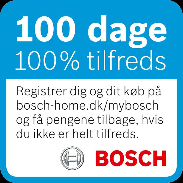 Bosch 100 dages tilfredshed