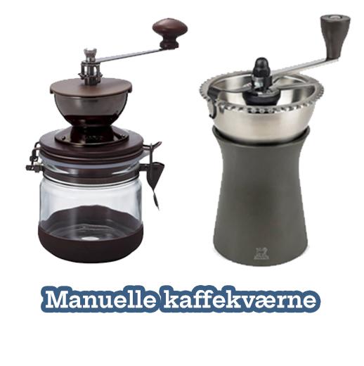 Manuelle Kaffekværne