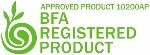 BFA Registered Product