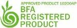 BFA Registered Product