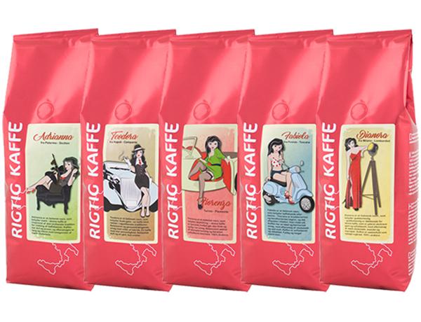 Rigtig Kaffes italienske serie