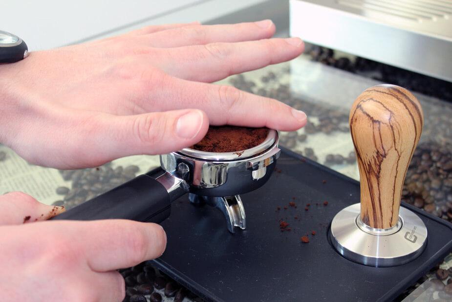 Fjern overskydende kaffe