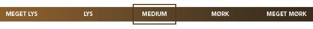 Kaffestyrke: Medium