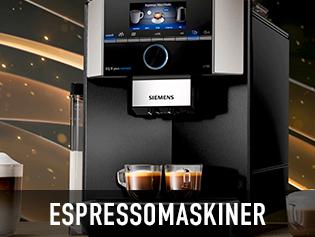 Siemens Espressomaskiner